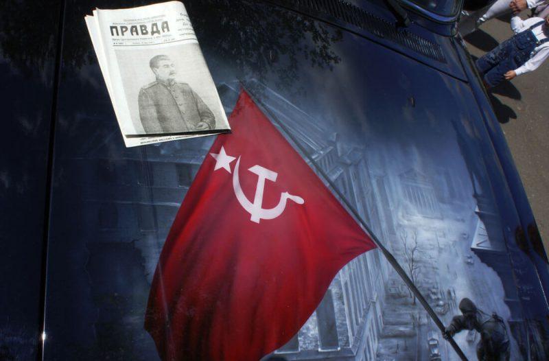 Наша Волга с аэрографией на праздновании 9 мая в Череповце
